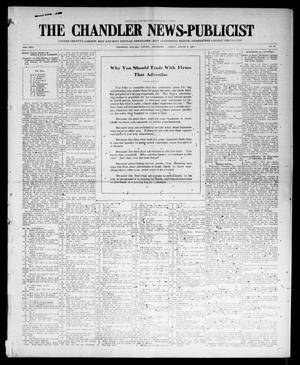 Primary view of object titled 'The Chandler News-Publicist (Chandler, Okla.), Vol. 24, No. 47, Ed. 1 Friday, August 6, 1915'.