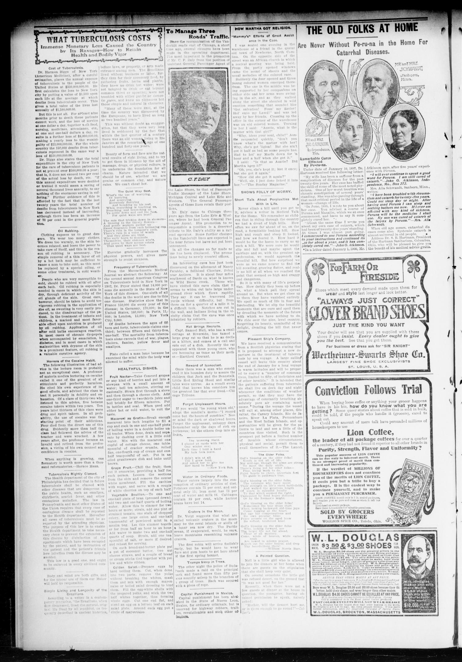 Chandler Daily Publicist. (Chandler, Okla. Terr.), Vol. 3, No. 290, Ed. 1 Saturday, March 11, 1905                                                                                                      [Sequence #]: 2 of 8