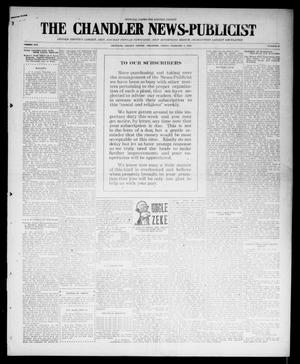 Primary view of object titled 'The Chandler News-Publicist (Chandler, Okla.), Vol. 25, No. 21, Ed. 1 Friday, February 4, 1916'.