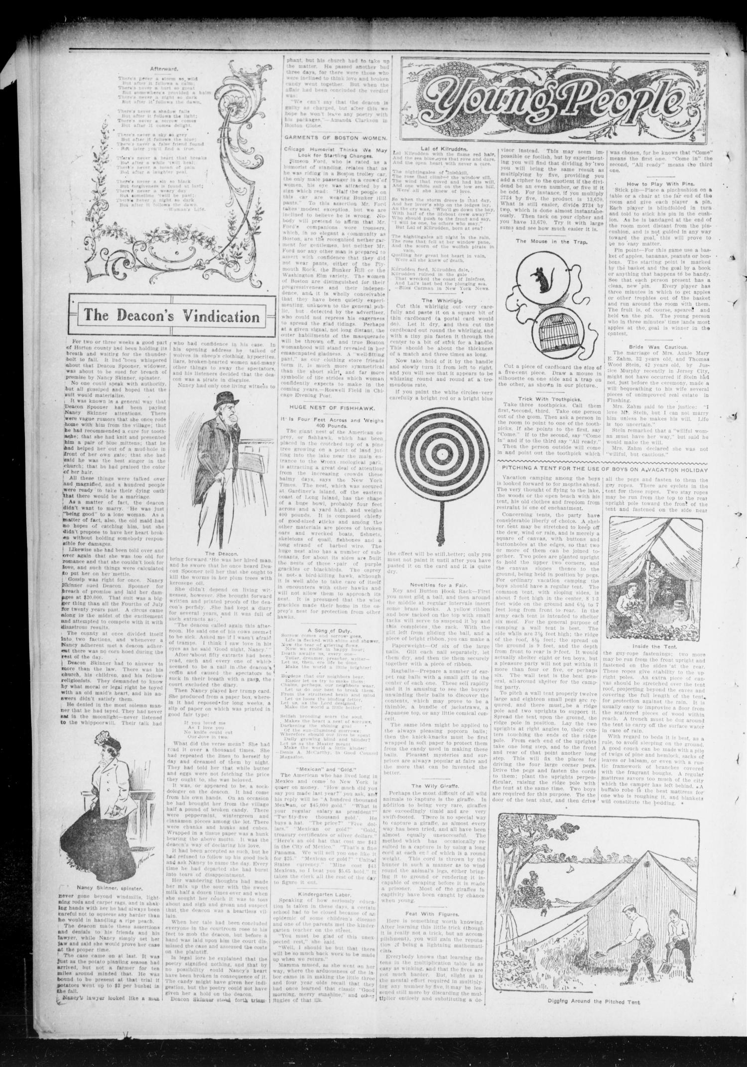 Chandler Daily Publicist. (Chandler, Okla. Terr.), Vol. 2, No. 119, Ed. 1 Tuesday, August 18, 1903                                                                                                      [Sequence #]: 4 of 4