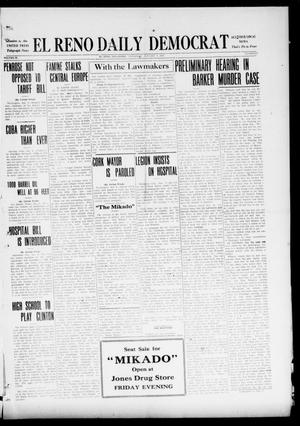 Primary view of object titled 'El Reno Daily Democrat (El Reno, Okla.), Vol. 29, No. 228, Ed. 1 Thursday, January 6, 1921'.