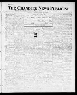 Primary view of object titled 'The Chandler News-Publicist (Chandler, Okla.), Vol. 27, No. 24, Ed. 1 Friday, February 22, 1918'.