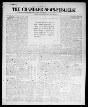 Primary view of object titled 'The Chandler News-Publicist (Chandler, Okla.), Vol. 24, No. 42, Ed. 1 Friday, July 2, 1915'.