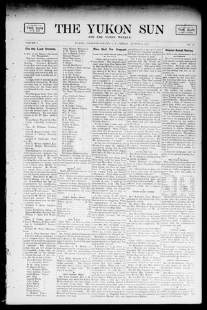 Primary view of object titled 'The Yukon Sun And The Yukon Weekly. (Yukon, Okla. Terr.), Vol. 9, No. 31, Ed. 1 Friday, August 2, 1901'.