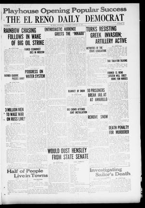Primary view of object titled 'The El Reno Daily Democrat (El Reno, Okla.), Vol. 29, No. 234, Ed. 1 Thursday, January 13, 1921'.