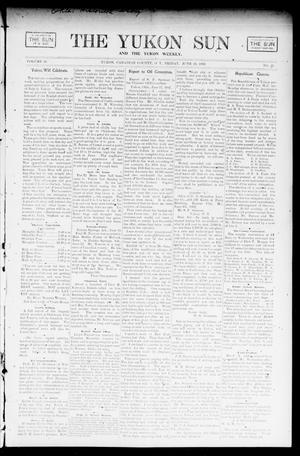 Primary view of object titled 'The Yukon Sun And The Yukon Weekly. (Yukon, Okla. Terr.), Vol. 10, No. 25, Ed. 1 Friday, June 20, 1902'.