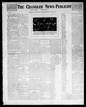 Primary view of object titled 'The Chandler News-Publicist (Chandler, Okla.), Vol. 22, No. 33, Ed. 1 Friday, May 2, 1913'.
