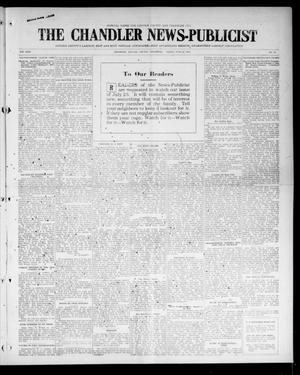 Primary view of object titled 'The Chandler News-Publicist (Chandler, Okla.), Vol. 24, No. 41, Ed. 1 Friday, June 25, 1915'.