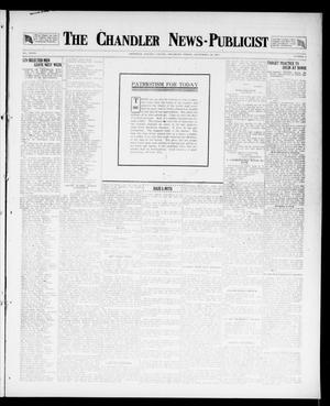 Primary view of object titled 'The Chandler News-Publicist (Chandler, Okla.), Vol. 27, No. 3, Ed. 1 Friday, September 28, 1917'.