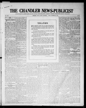 Primary view of object titled 'The Chandler News-Publicist (Chandler, Okla.), Vol. 24, No. 10, Ed. 1 Friday, November 20, 1914'.