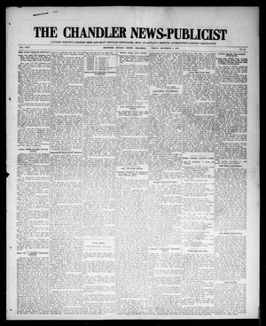 Primary view of object titled 'The Chandler News-Publicist (Chandler, Okla.), Vol. 24, No. 12, Ed. 1 Friday, December 4, 1914'.