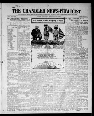 Primary view of object titled 'The Chandler News-Publicist (Chandler, Okla.), Vol. 23, No. 37, Ed. 1 Friday, May 29, 1914'.