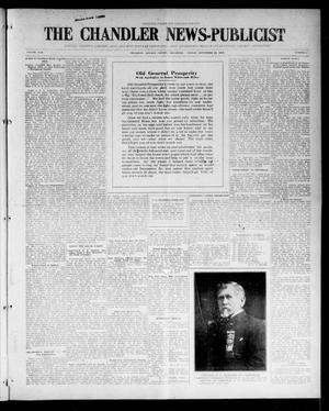 Primary view of object titled 'The Chandler News-Publicist (Chandler, Okla.), Vol. 25, No. 2, Ed. 1 Friday, September 24, 1915'.