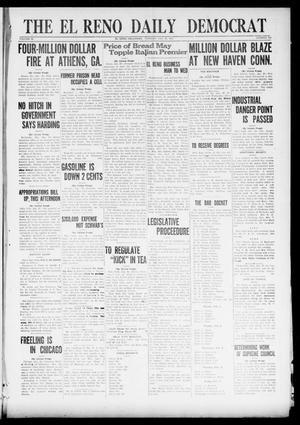 Primary view of The El Reno Daily Democrat (El Reno, Okla.), Vol. 30, No. 244, Ed. 1 Tuesday, January 25, 1921