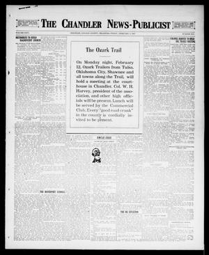 Primary view of object titled 'The Chandler News-Publicist (Chandler, Okla.), Vol. 26, No. 21, Ed. 1 Friday, February 2, 1917'.