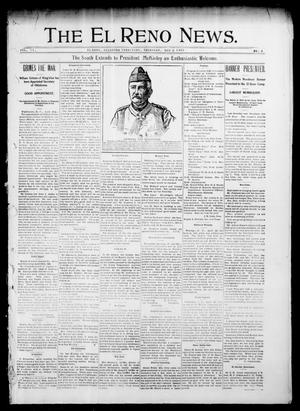 Primary view of object titled 'The El Reno News. (El Reno, Okla. Terr.), Vol. 6, No. 5, Ed. 1 Thursday, May 2, 1901'.