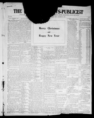 Primary view of object titled 'The Chandler News-Publicist (Chandler, Okla.), Vol. 24, No. 15, Ed. 1 Friday, December 25, 1914'.