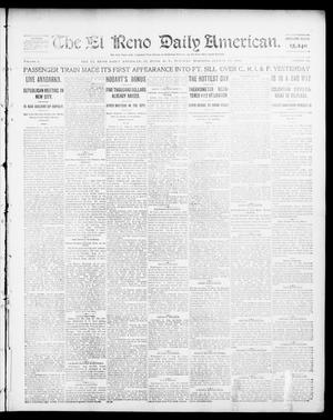 Primary view of object titled 'The El Reno Daily American. (El Reno, Okla. Terr.), Vol. 1, No. 42, Ed. 1 Tuesday, August 27, 1901'.