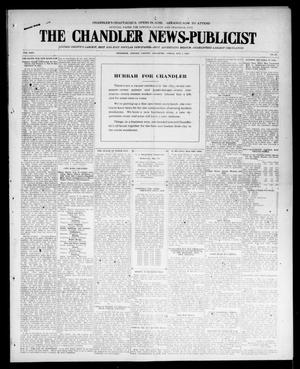 Primary view of object titled 'The Chandler News-Publicist (Chandler, Okla.), Vol. 24, No. 34, Ed. 1 Friday, May 7, 1915'.
