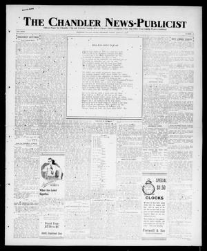Primary view of object titled 'The Chandler News-Publicist (Chandler, Okla.), Vol. 27, No. 25, Ed. 1 Friday, March 1, 1918'.