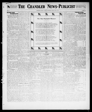 Primary view of object titled 'The Chandler News-Publicist (Chandler, Okla.), Vol. 26, No. 38, Ed. 1 Friday, June 1, 1917'.