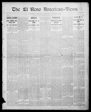Primary view of object titled 'The El Reno American--News. (El Reno, Okla. Terr.), Vol. 6, No. 18, Ed. 1 Thursday, August 1, 1901'.