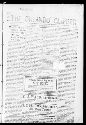 Primary view of object titled 'The Orlando Clipper (Orlando, Okla.), Vol. 6, No. 14, Ed. 1 Friday, February 23, 1912'.