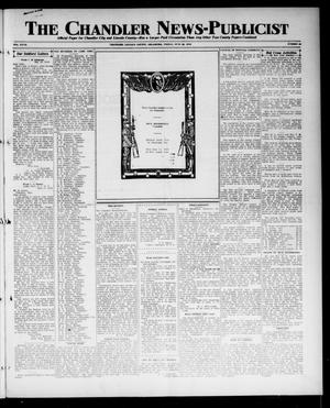 Primary view of object titled 'The Chandler News-Publicist (Chandler, Okla.), Vol. 27, No. 42, Ed. 1 Friday, June 28, 1918'.
