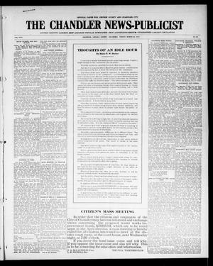 Primary view of object titled 'The Chandler News-Publicist (Chandler, Okla.), Vol. 24, No. 28, Ed. 1 Friday, March 26, 1915'.