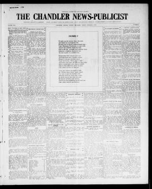 Primary view of object titled 'The Chandler News-Publicist (Chandler, Okla.), Vol. 25, No. 4, Ed. 1 Friday, October 8, 1915'.
