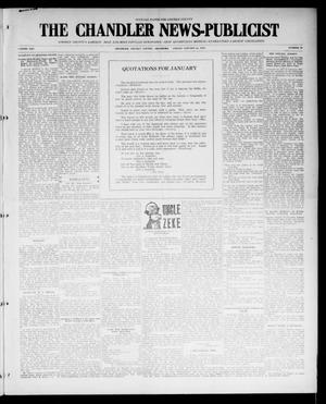 Primary view of object titled 'The Chandler News-Publicist (Chandler, Okla.), Vol. 25, No. 19, Ed. 1 Friday, January 21, 1916'.
