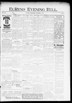Primary view of El Reno Evening Bell. (El Reno, Okla.), Vol. 8, No. 83, Ed. 1 Tuesday, December 2, 1902