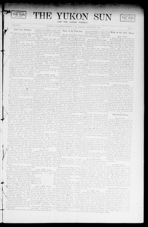 Primary view of object titled 'The Yukon Sun And The Yukon Weekly. (Yukon, Okla. Terr.), Vol. 9, No. 33, Ed. 1 Friday, August 16, 1901'.
