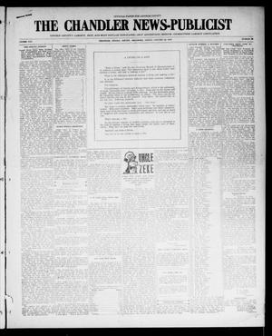 Primary view of object titled 'The Chandler News-Publicist (Chandler, Okla.), Vol. 25, No. 20, Ed. 1 Friday, January 28, 1916'.
