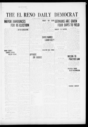 Primary view of object titled 'The El Reno Daily Democrat (El Reno, Okla.), Vol. 30, No. 376, Ed. 1 Thursday, March 3, 1921'.