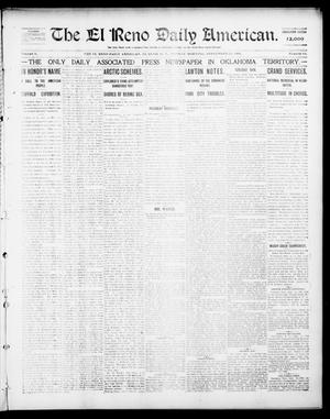 Primary view of object titled 'The El Reno Daily American. (El Reno, Okla. Terr.), Vol. 1, No. 68, Ed. 1 Monday, September 23, 1901'.