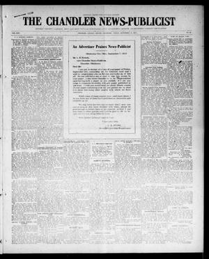 Primary view of object titled 'The Chandler News-Publicist (Chandler, Okla.), Vol. 24, No. 52, Ed. 1 Friday, September 10, 1915'.