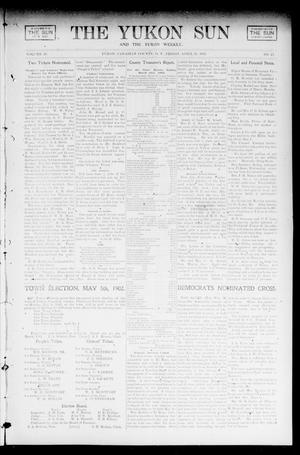 Primary view of object titled 'The Yukon Sun And The Yukon Weekly. (Yukon, Okla. Terr.), Vol. 10, No. 17, Ed. 1 Friday, April 25, 1902'.