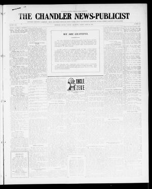 Primary view of object titled 'The Chandler News-Publicist (Chandler, Okla.), Vol. 25, No. 33, Ed. 1 Friday, April 28, 1916'.