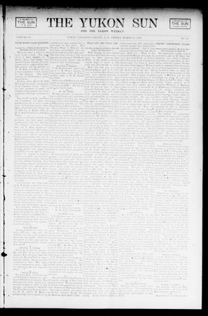 Primary view of object titled 'The Yukon Sun And The Yukon Weekly. (Yukon, Okla. Terr.), Vol. 10, No. 13, Ed. 1 Friday, March 28, 1902'.