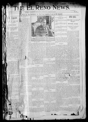 Primary view of object titled 'The El Reno News. (El Reno, Okla. Terr.), Vol. 5, No. 40, Ed. 1 Thursday, January 3, 1901'.
