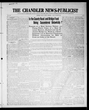 Primary view of object titled 'The Chandler News-Publicist (Chandler, Okla.), Vol. 24, No. 6, Ed. 1 Friday, October 23, 1914'.