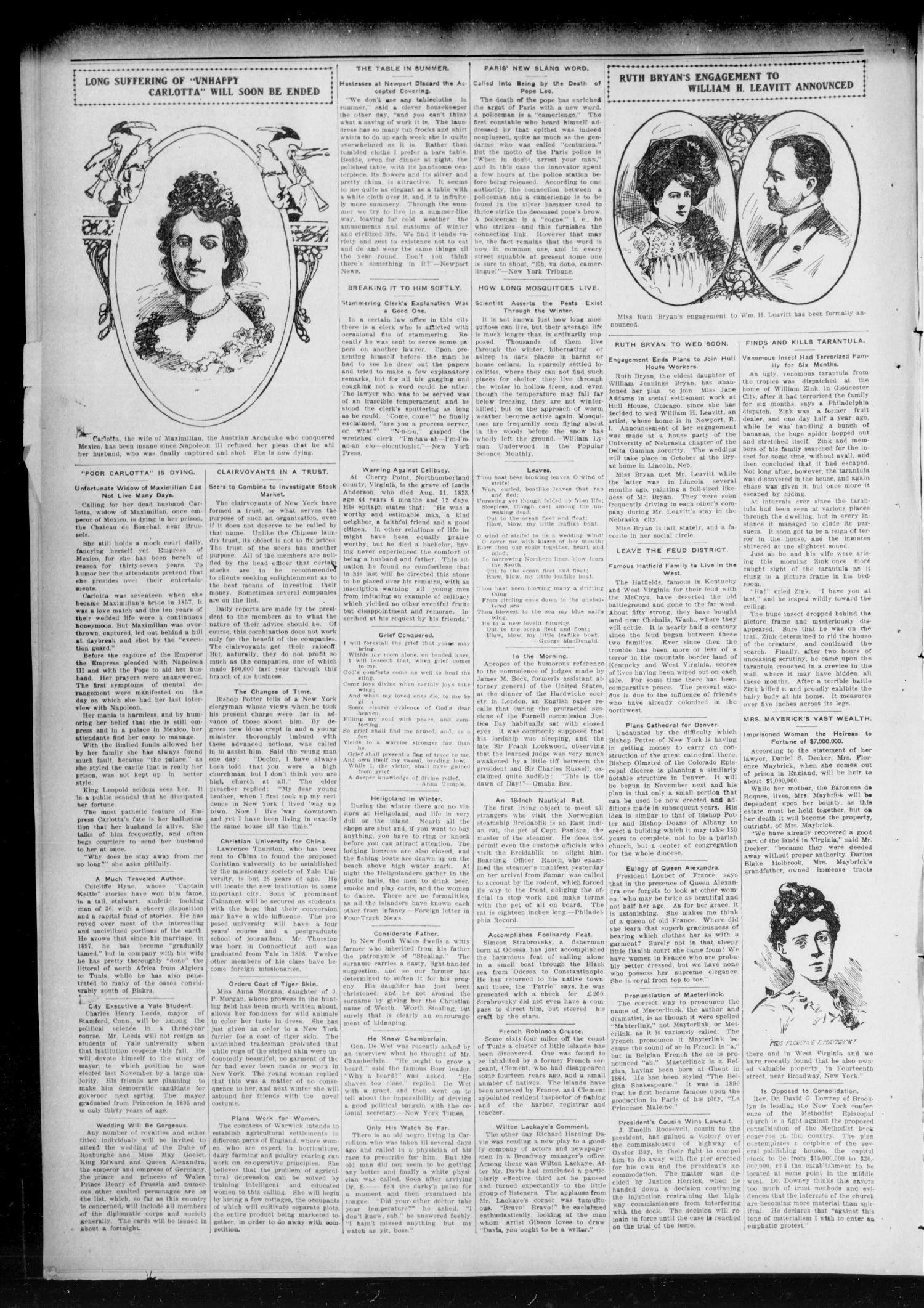 Chandler Daily Publicist. (Chandler, Okla. Terr.), Vol. 2, No. 162, Ed. 1 Wednesday, October 7, 1903                                                                                                      [Sequence #]: 4 of 4