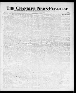 Primary view of object titled 'The Chandler News-Publicist (Chandler, Okla.), Vol. 27, No. 26, Ed. 1 Friday, March 8, 1918'.