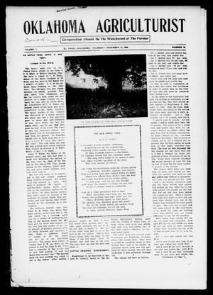 Primary view of Oklahoma Agriculturist (El Reno, Okla.), Vol. 1, No. 19, Ed. 1 Thursday, December 13, 1906