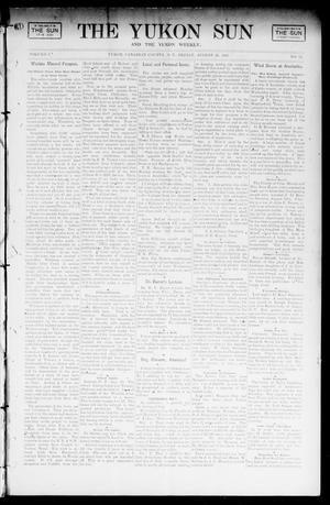 Primary view of object titled 'The Yukon Sun And The Yukon Weekly. (Yukon, Okla. Terr.), Vol. 9, No. 34, Ed. 1 Friday, August 23, 1901'.