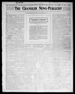 Primary view of object titled 'The Chandler News-Publicist (Chandler, Okla.), Vol. 23, No. 8, Ed. 1 Friday, November 7, 1913'.