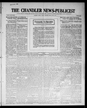 Primary view of object titled 'The Chandler News-Publicist (Chandler, Okla.), Vol. 23, No. 40, Ed. 1 Friday, June 19, 1914'.