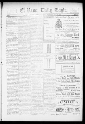 Primary view of object titled 'El Reno Daily Eagle. (El Reno, Okla.), Vol. 1, No. 249, Ed. 1 Saturday, July 20, 1895'.