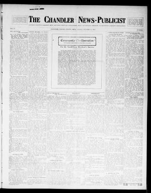 Primary view of object titled 'The Chandler News-Publicist (Chandler, Okla.), Vol. 23, No. 7, Ed. 1 Friday, October 31, 1913'.